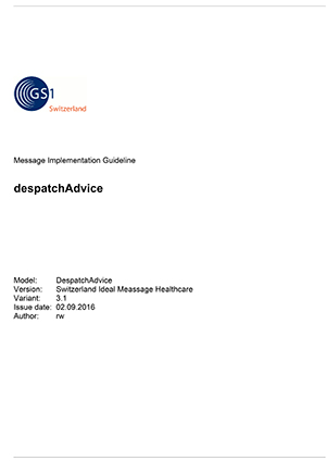 despatchAdvice -  Healthcare